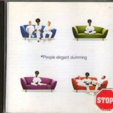 CDs de Música: MPEOPLE - ELEGANT SLUMMING - CD ALBUM - 10 TRACKS - BMG RECORDS 1993. Lote 120525323