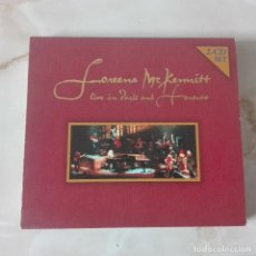 CDs de Música: LOREENA MCKENNITT LIVE IN PARIS AND TORONTO CD 1999 17 TEMAS. Lote 120542943