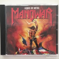 CDs de Música: MANOWAR - KINGS OF METAL / CD 1988 / PEDIDO MÍNIMO 6€. Lote 144073309