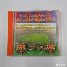 CDs de Música: FUTBOL CLUB BARCELONA. HIMNE OFICIAL I CANTICS DEL BARÇA. CD. TDKV17. Lote 120673347