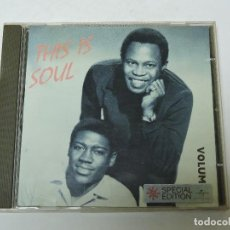 CDs de Música: THIS IS SOUL VOL. II CD. Lote 120682039