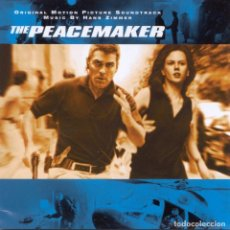 CDs de Música: THE PEACEMAKER / HANS ZIMMER CD BSO. Lote 183289502