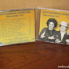 CDs de Música: JUANITO VALDERRAMA Y DOLORES ABRIL - 12 PELEAS EN BROMA VOLUMEN 2 - CD . Lote 120714471