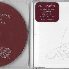 CDs de Música: PAUL MCCARTNEY (THE BEATLES): FINE LINE / COMFORT OF LOVE. CD SINGLE. Lote 120722271