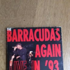 CDs de Música: BARRACUDAS AGAIN LIVE IN '93. Lote 120808391