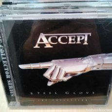 CDs de Música: ACCEPT - STEEL GLOVE - CD - THE COLLECTOR SERIES - NUEVO. Lote 120694047