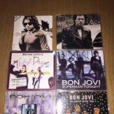 CDs de Música: BON JOVI LOTE 6 CD SINGLES. Lote 120825854