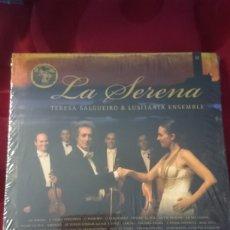 CDs de Música: LA SERENA TERESA SALGUEIRO Y LUSITANIA ENSEMBLE. NUEVO. Lote 213647490