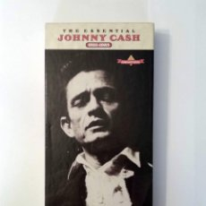 CDs de Música: JOHNNY CASH -THE ESSENTIAL (1955-1983) -ESTUCHE 3 CDS Y LIBRETO. COLUMBIA COUNTRY CLASSICS, AÑO 1992. Lote 120843531