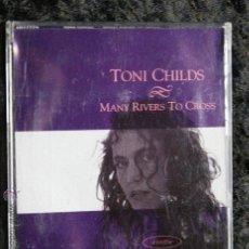 CDs de Música: TONY CHILDS - MANY RIVERS TO CROSS - PROMO - CD17774 A&M PROMO 1989. Lote 51882990