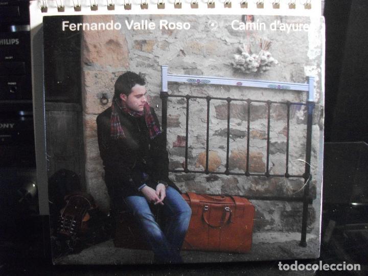 FERNANDO VALLE ROSO CAMIN DÀYURES CD PRECINTADO PRINCIPADO DE ASTURIAS PEPETO (Música - CD's Country y Folk)