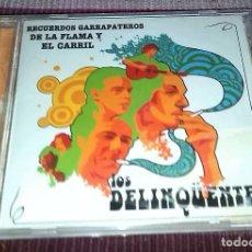 CDs de Música: LOS DELINQÜENTES - RECUERDOS GARRAPATEROS.... MUCHACHITO BOMBO-LA EXCEPCION-BEBE-KIKO VENENO.... Lote 120895259