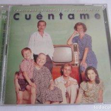 CDs de Música: CUENTAME - CANCIONES ORIGINALES DE LA SERIE DE TV 2001 SPAIN 2 X CD. Lote 120896355