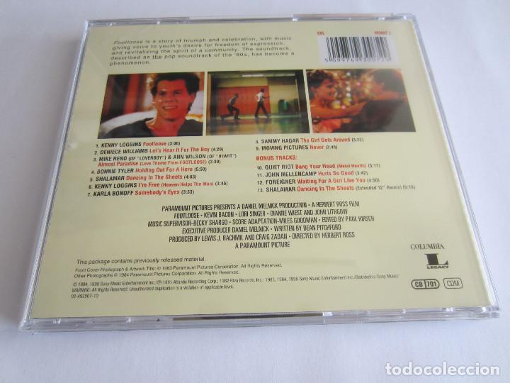Footloose Original Motion Picture Soundtrack Buy Cds Of