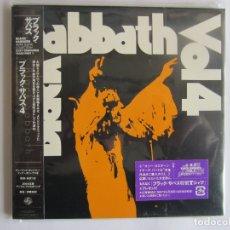 CDs de Música: BLACK SABBATH - VOL. 4 1972/2007 JAPAN MINI LP PAPERSLEEVE CARDBOARD CD POCE-1100. Lote 48834693