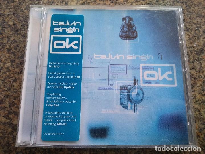 CD -- TALVIN SINGH -- OK -- 1998 - 11 TEMAS -- (Música - CD's Otros Estilos)