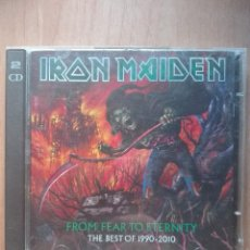 CDs de Música: IRON MAIDEN.FROM FEAR TO ETERNITY.THE BEST OF 1990-2010.DOBLE CD!!. Lote 175599083