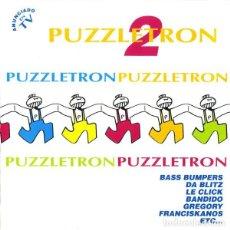 CDs de Música: PUZZLETRON 2 - 2XCD RECOPILATORIO. Lote 120932283