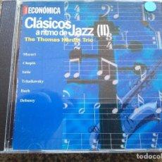 CDs de Música: CD -- CLASICOS A RITMO DE JAZZ ( II ) - THE THOMAS HARDIN TRIO - 16 TEMAS --. Lote 134284105