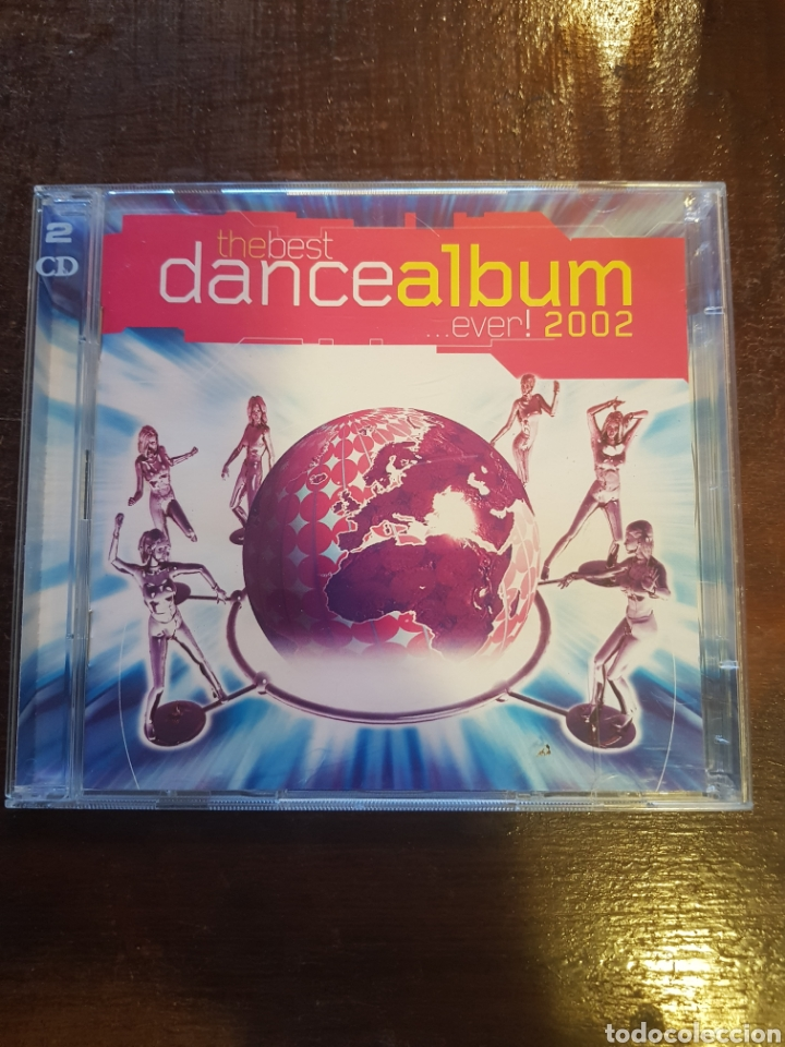 Varios  The Best Dance Album Ever! 2002  Doble CD  Virgun  EMI
