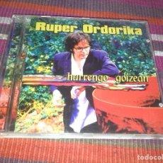 CDs de Música: RUPER ORDORIKA HURRENGO GOIZEAN CD METAK 2001. Lote 120995759