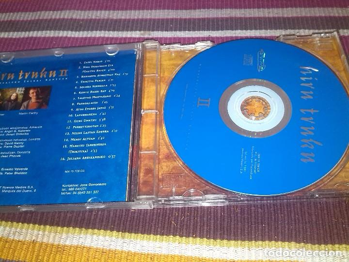 CDs de Música: HIRU TRUKU II JOSEBA TAPIA RUPER ORDORIKA BIXENTE MARTÍNEZ CD 1997 - Foto 2 - 121000375