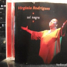 CDs de Música: VIRGINIA RODRIGUES SOL NEGRO CD ALBUM COMO NUEVO¡¡. Lote 121004423