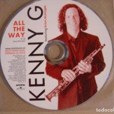 CDs de Música: KENNY G - ALL THE WAY - CD SINGLE PROMOCIONAL 2002 - ARISTA. Lote 121041319