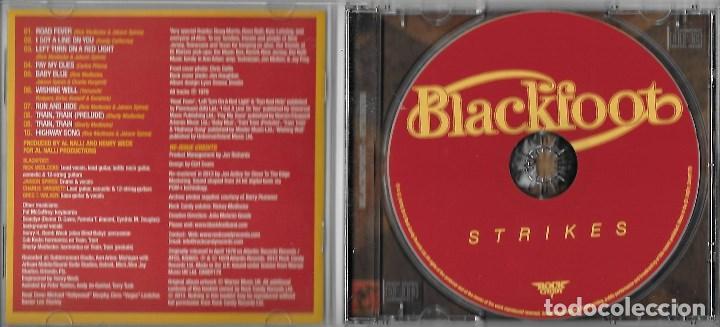 BLACKFOOT: STRIKES  FANTÁSTICO HARD ROCK SUREÑO