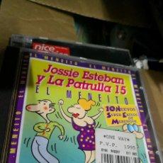 CD de Música: JOSSIE ESTEBAN Y LA PATRULLA 15 - EL MENEITO CD 1994 EDICION ESPAÑOLA. Lote 121082451