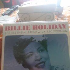 CDs de Música: BILLIE HOLIDAY THE ESSENTIAL BRUNSWICK RECORDINGS . 3 CDS. PRECINTADO. Lote 121104403