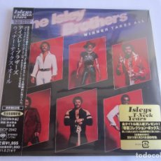 CDs de Música: THE ISLEY BROTHERS - WINNER TAKES ALL 1979/2010 JAPAN MINI LP PAPERSLEEVE CD SICP-2942 * REMASTERED. Lote 121126439