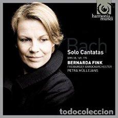 CD de Música: J.S BACH - SOLO CANTATAS (CD) BERNARDA FINK, FREIBURGER BAROCKORCHESTER. Lote 135690687