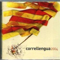 CDs de Música: CORRELLENGUA 2004 - CAL I DISCMEDI 2004 - AL TALL, RAIMON, LLACH, FELIU VENTURA, BRAMS, OBRINT PAS. Lote 146455110