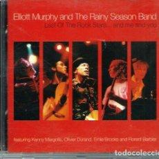 CDs de Música: ELLIOTT MURPHY & THE RAINY SEASON BAND - LAST OF THE ROCK STARS ...- DUSTY ROSES 2003, 2 CD ORIGINAL. Lote 121173791