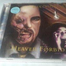 CDs de Música: BLUE OYSTER CULT -HEAVEN FORBID- CD HEAVY METAL HARD ROCK. Lote 121180759
