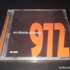 CDs de Música: 972 - CD + DVD - EN DIRECTE AL BEACH, AÑO 2005 PRECINTADO - POP ROCK CATALÁN. Lote 121242679