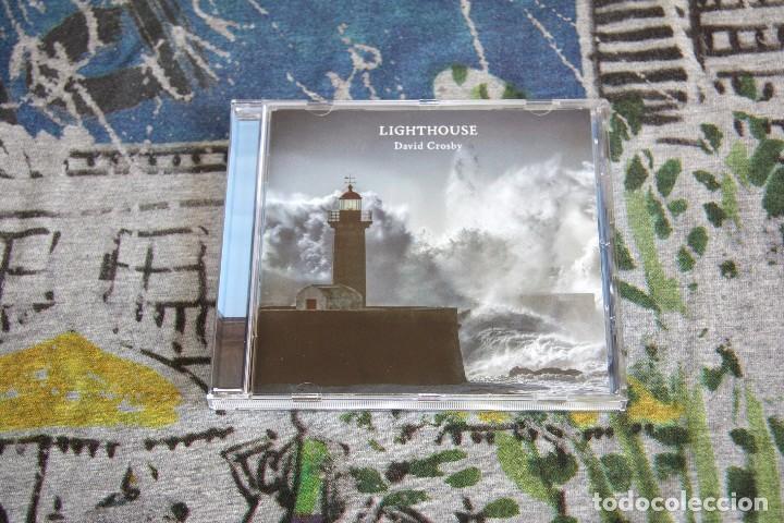 DAVID CROSBY - LIGHTHOUSE - GROUND UP MUSIC - 6 02557 23868 6 - CD (Música - CD's World Music)