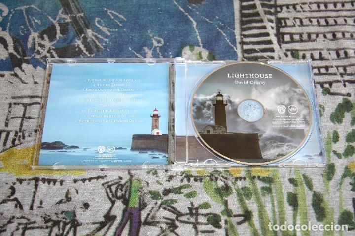 CDs de Música: David Crosby - Lighthouse - Ground UP Music - 6 02557 23868 6 - CD - Foto 2 - 121255119