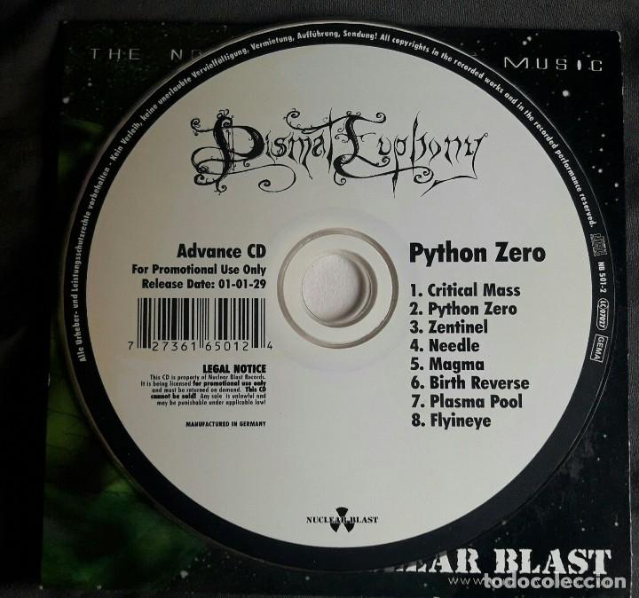 DISMAL EUPHONY - PYTHON ZERO PROMO CD FUNDA CARTON, CARDBOARD SLEEVE - BLACK METAL 2001 (Música - CD's Heavy Metal)