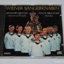 CDs de Música: WIENER SÄNGERKNABEN - ANTON BRUCKNER - BENJAMIN BRITTEN - CEREMONY OF CAROLS / MOTETTEN. Lote 121296379