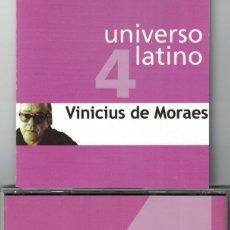 CDs de Musique: UNIVERSO LATINO 4 - VINICIUS DE MORAES (CD, EUROTROPICAL 2001). Lote 121316239