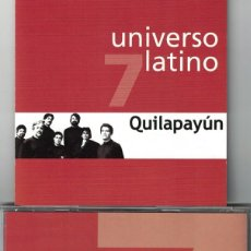 CDs de Música: UNIVERSO LATINO 7 - QUILAPAYUN (CD, EUROTROPICAL 2001). Lote 121316379