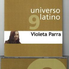 CDs de Musique: UNIVERSO LATINO 9 - VIOLETA PARRA (CD, EUROTROPICAL 2001). Lote 121316471