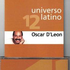 CDs de Musique: UNIVERSO LATINO 12 - OSCAR D'LEON (CD, EUROTROPICAL 2001). Lote 121316695
