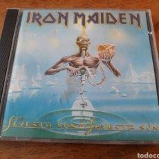 CDs de Música: IRON MAIDEN SEVENTH SON OF THE SEVENTH SON. Lote 121369830