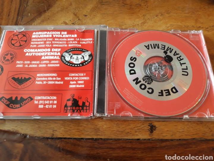CDs de Música: Def Con Dos ultramemia rap español hip hop - Foto 2 - 121372119