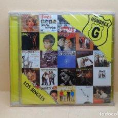 CDs de Música: HOMBRES G - LOS SINGLES (PRECINTADO). Lote 121372419