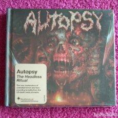 CDs de Música: AUTOPSY - THE HEADLESS RITUAL CD DIGIBOOK NUEVO Y PRECINTADO - DEATH METAL. Lote 121383107