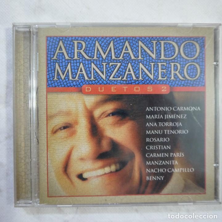 ARMANDO MANZANERO - DUETOS 2 - CD 2002 (Música - CD's Latina)